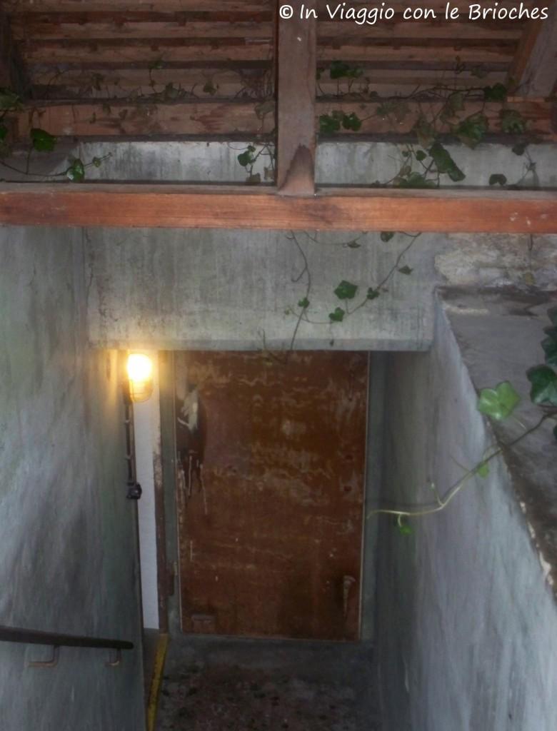 Ingresso del bunker