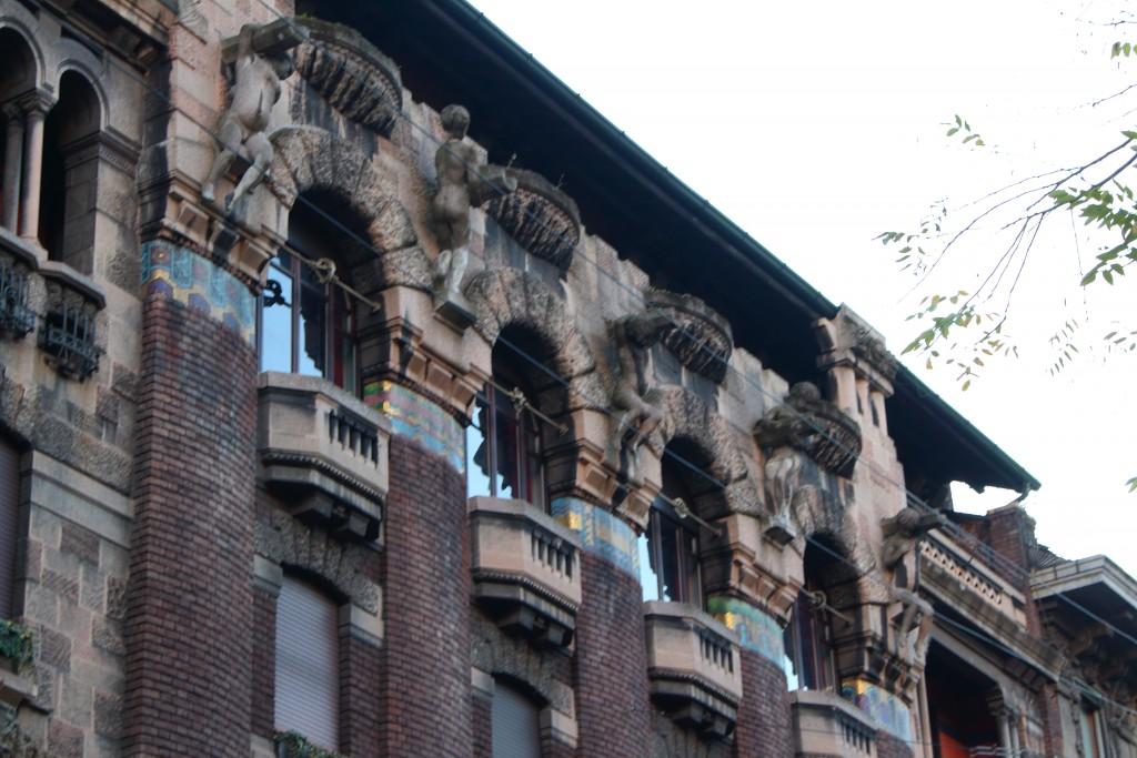 Casa Berri Meregalli - via dei Cappuccini, Milano